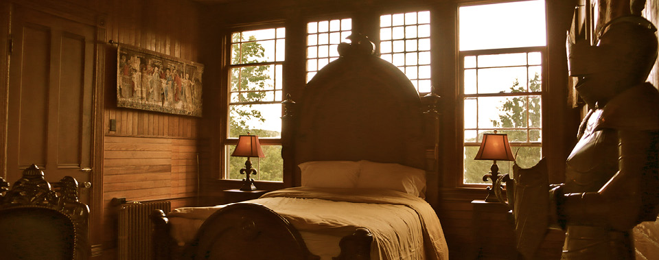 Eight guest rooms, filled with whimsy and wonder...