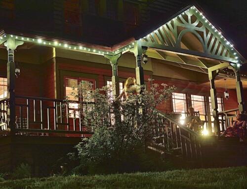 Spillian Fairytale Porch by Jim Stahr