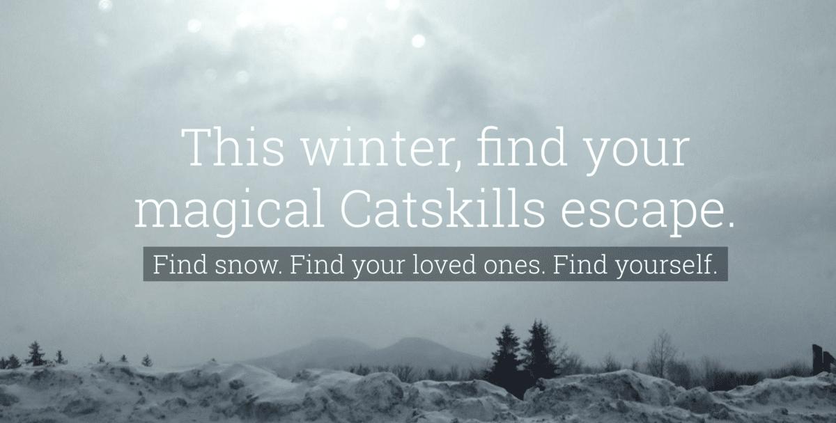 escape to the catskills winter 2016